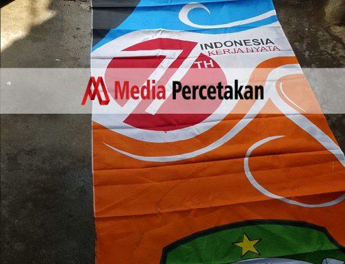 Cetak Umbulumbul-Spandukkain-Pemkot-Lombok
