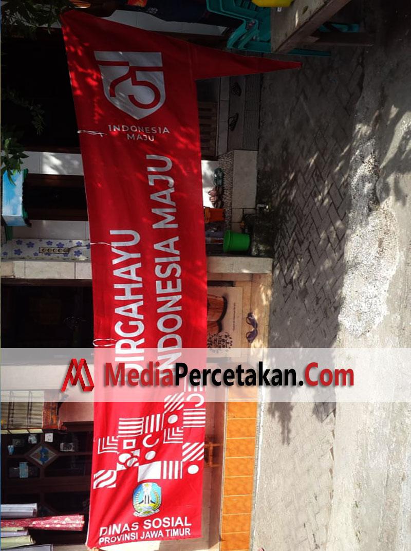 Cetak Umbulumbul Spanduk Kain Surabaya - Dinas Sosial Jawa Timur